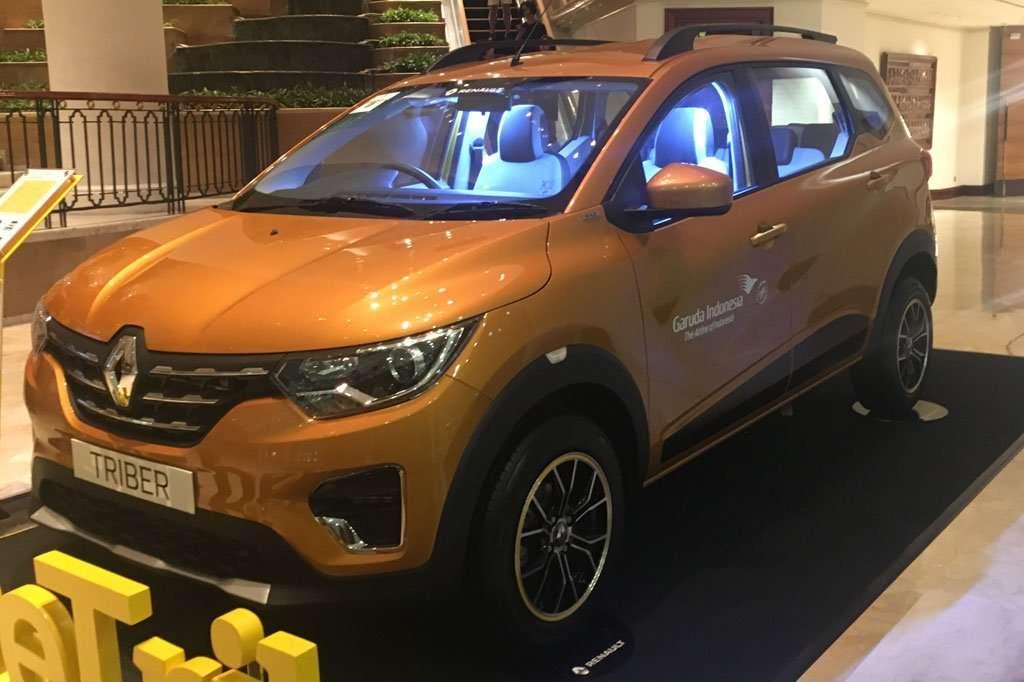 Belum Produksi, SPK Renault Triber Matic Dominan di GIIAS 2019