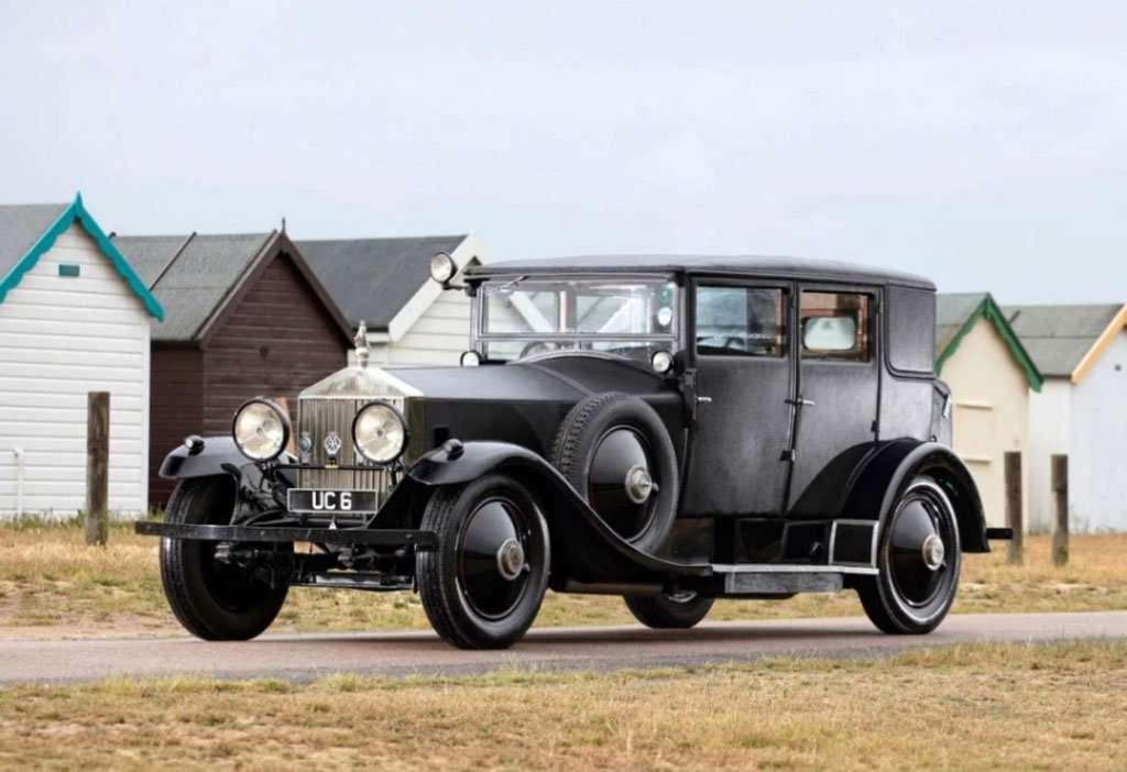 Rolls-Royce Bekas Raja Edward VIII Dilelang Rp 3,5 Miliar