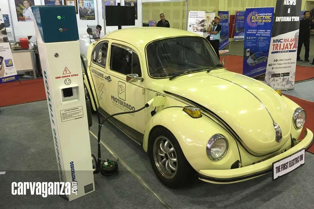 VW Kodok Lawas Ini Sudah Pakai Tenaga Listrik
