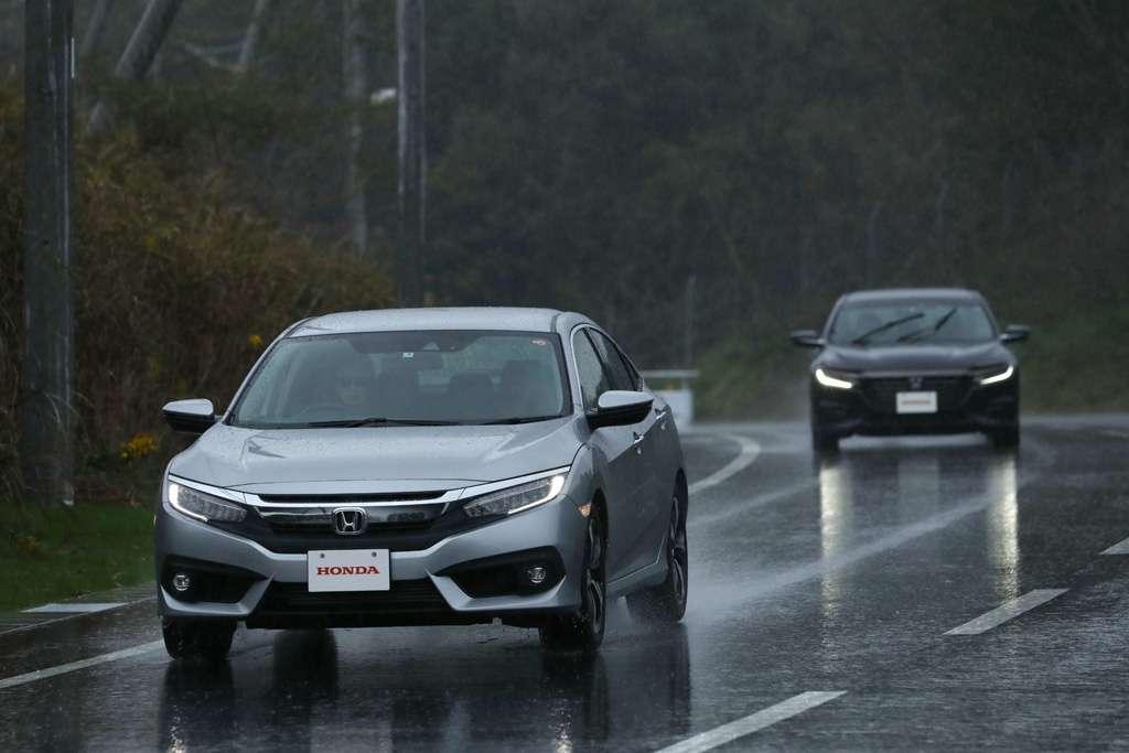 Fitur ACC Honda SENSING, Mengatur Jarak dengan Mobil Lain