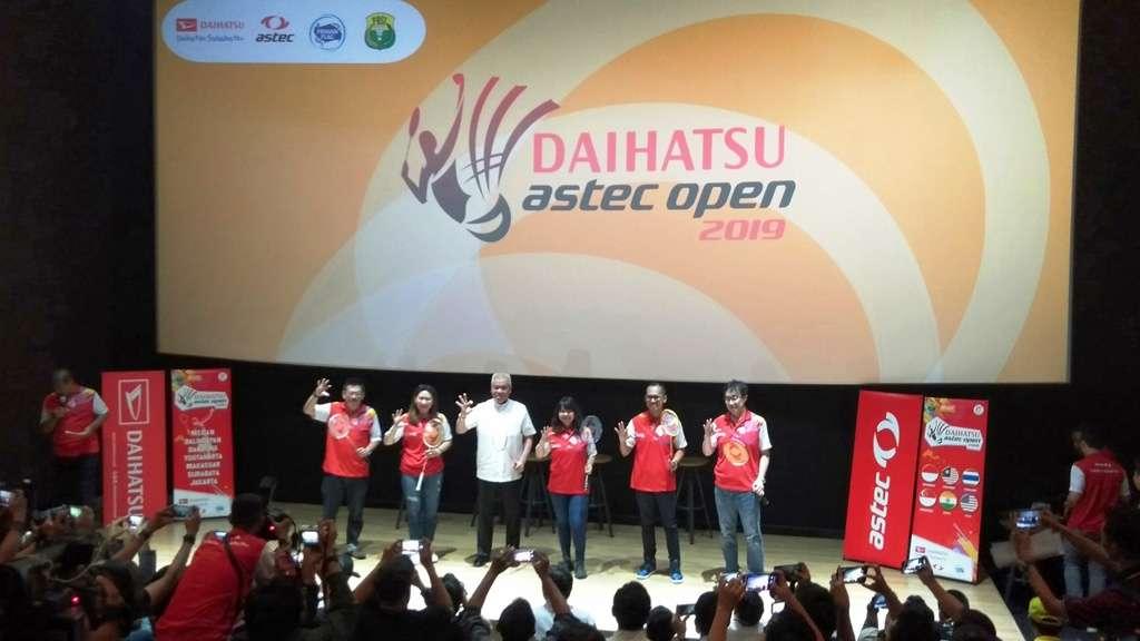 Daihatsu Astec Open 2019 Masuki Babak Final di Jakarta