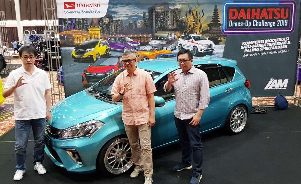 126 Mobil Ikuti Final Daihatsu Dress-Up Challenge 2019 di Jakarta