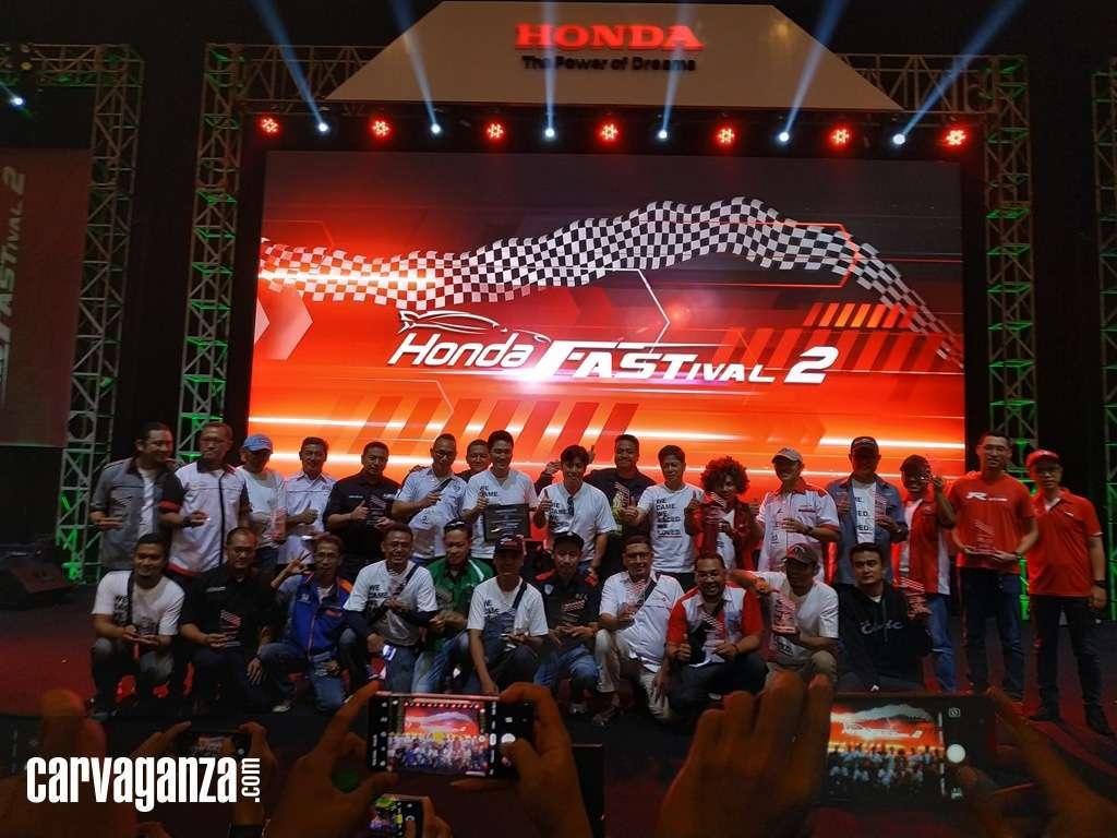 Ribuan Pecinta Honda Tumpah Ruah di Honda Fastival 2019