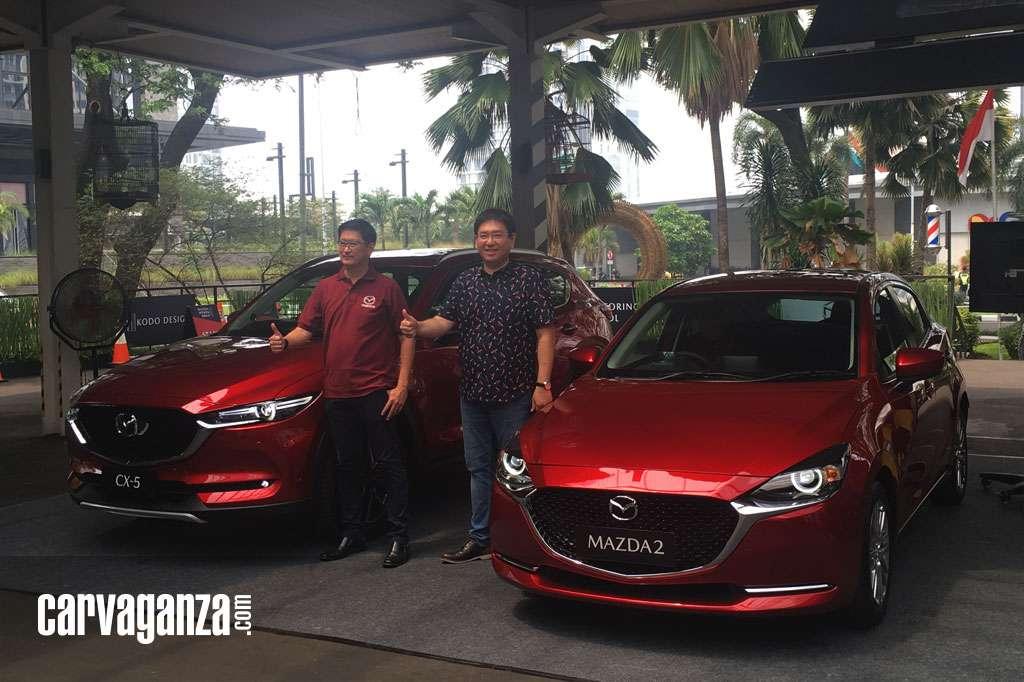 Mazda2 dan CX-5 Facelift Meluncur dengan Fitur Lebih Banyak