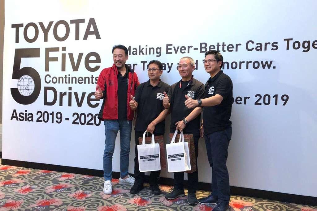 Toyota Tuntasnya Perjalanan 5Continents DriveAsia di Indonesia