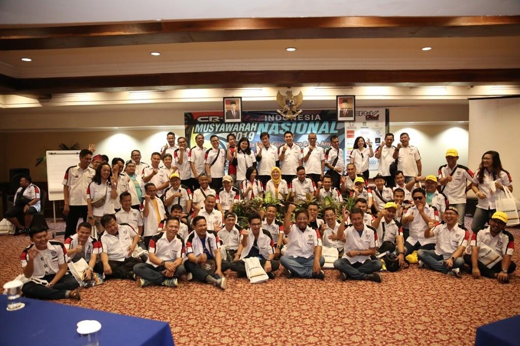 CR-V Club Indonesia Meriahkan Anyer dengan Munas dan Jamnas ke-3