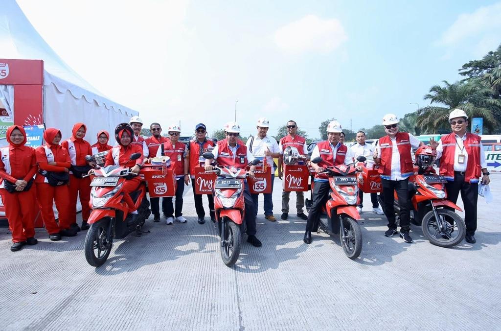 Pertamina: Layanan BBM di Jalur Tol Trans Jawa Selama Libur Aman