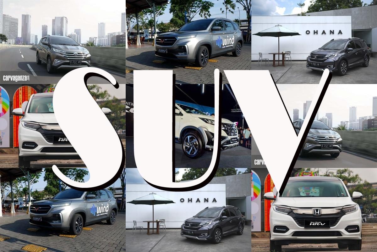 Ini Pilihan SUV dengan Harga di Bawah Rp 300 Juta