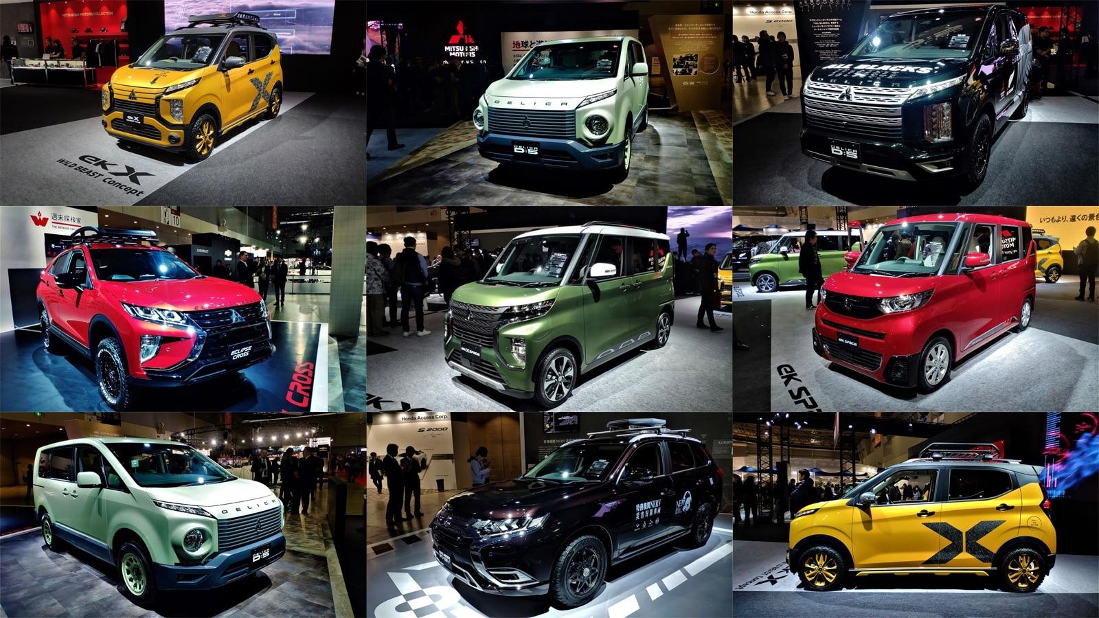 Ini 7 Mobil Modifikasi Keren Mitsubishi Di Tokyo Auto Salon 2020 Carvaganza Com