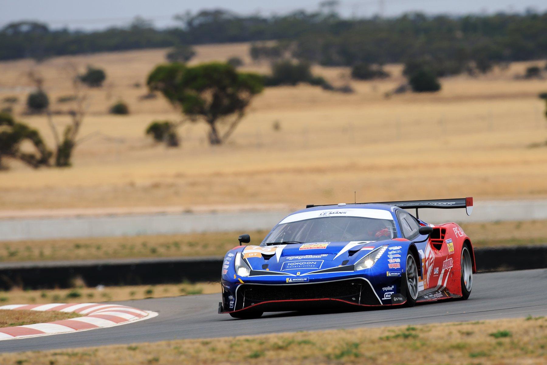 T2 Motorsports Tercepat Ketiga di FP2 Asian Le Mans Australia