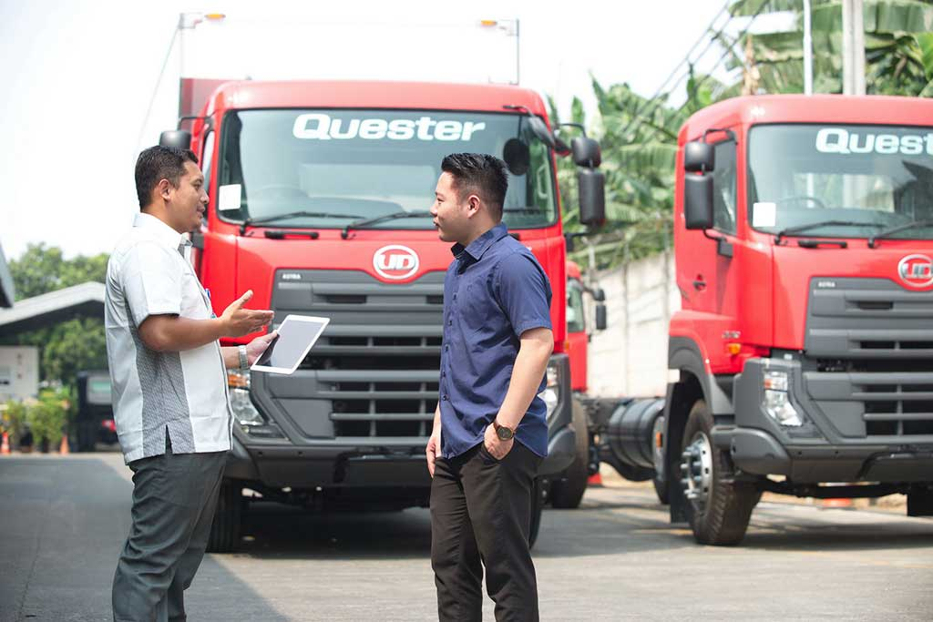 Sambut Aturan Euro4, UD Trucks: Produk Kami Aman Minum B30
