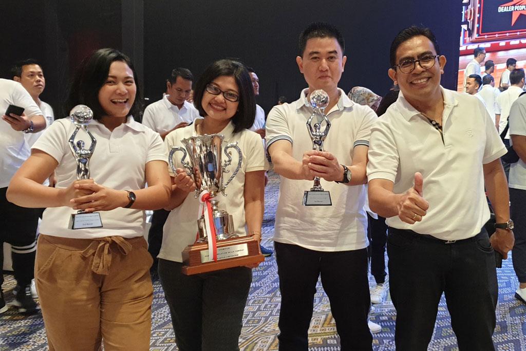 Auto2000 Boyong 10 Gelar di Toyota Dealer Convention 2019