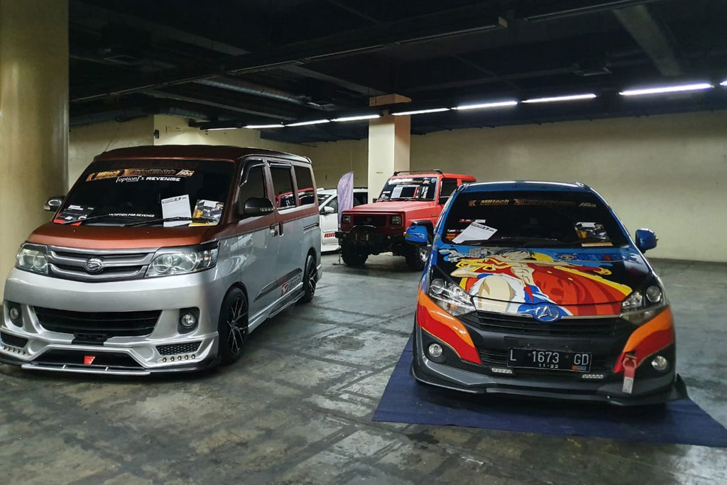 Ajang Modifikasi Khusus Daihatsu 2020 Dibuka di Surabaya