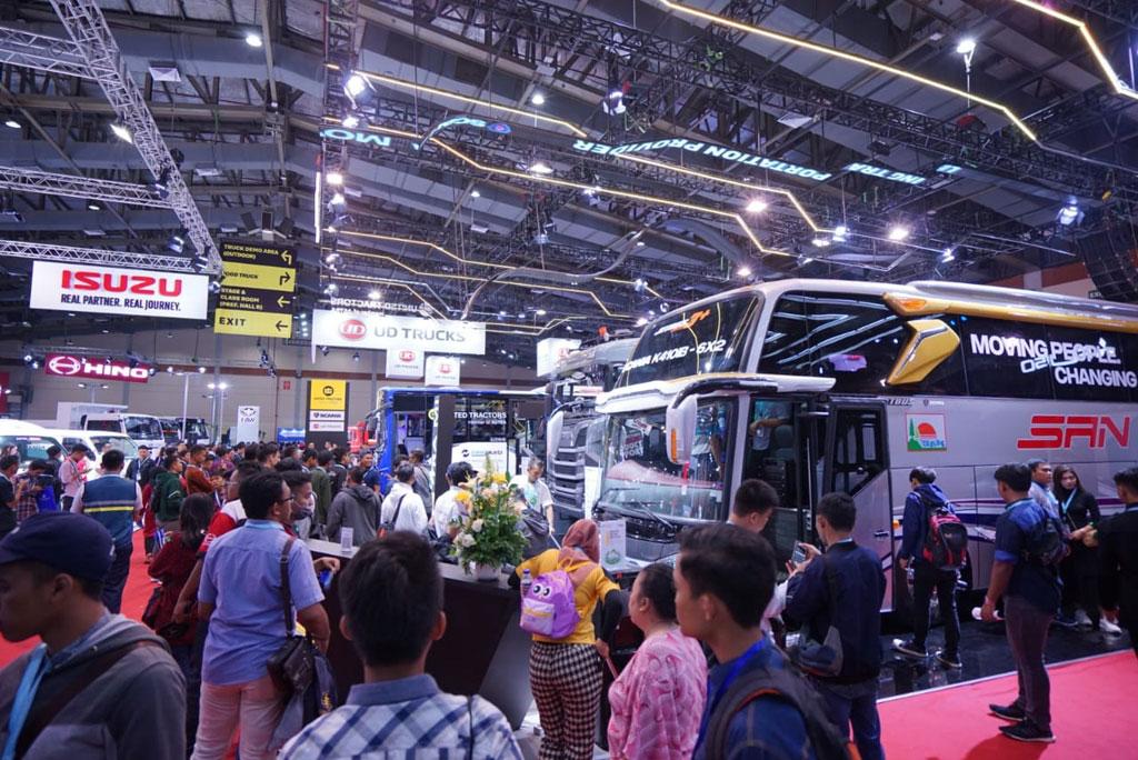 GIICOMVEC 2020 Diklaim Jual 800 Unit, Transaksi Rp 450 Miliar