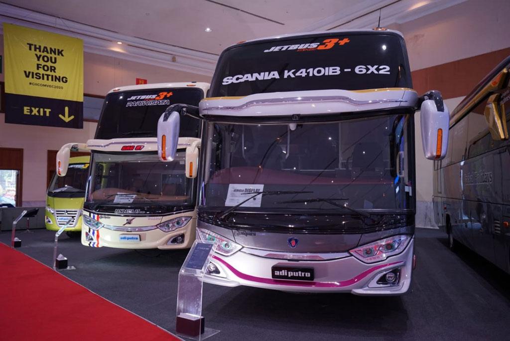 GIICOMVEC 2020: Karoseri Adiputro Bikin Medium Bus Jadi Keren