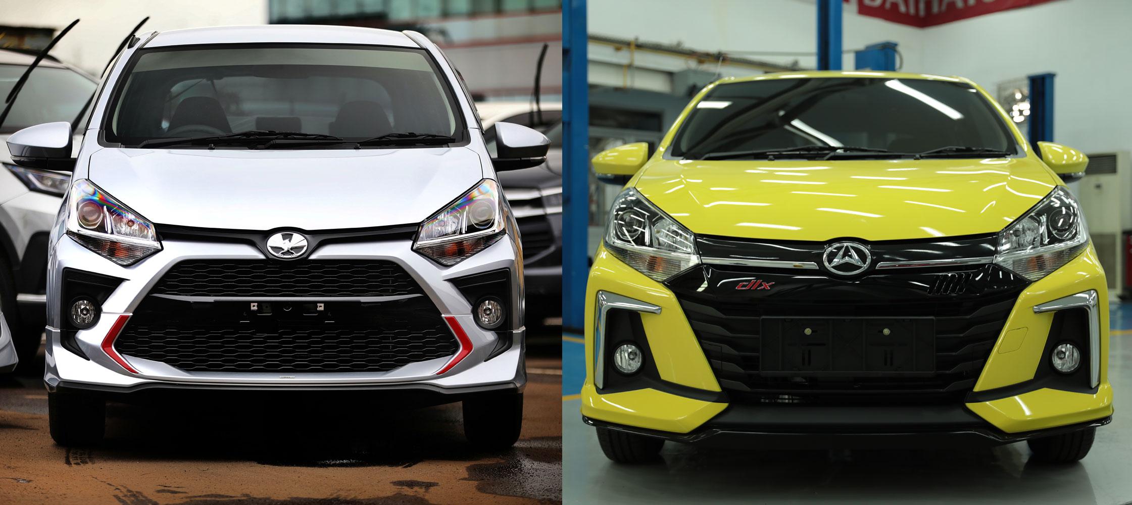 Si Kembar Toyota New Agya dan New Daihatsu Ayla, Apa Bedanya?