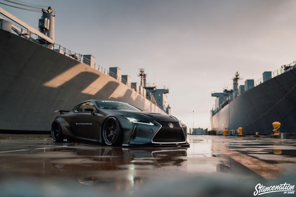 Modifikasi Lexus LC500, Transformasi Total Jerald Yutadco