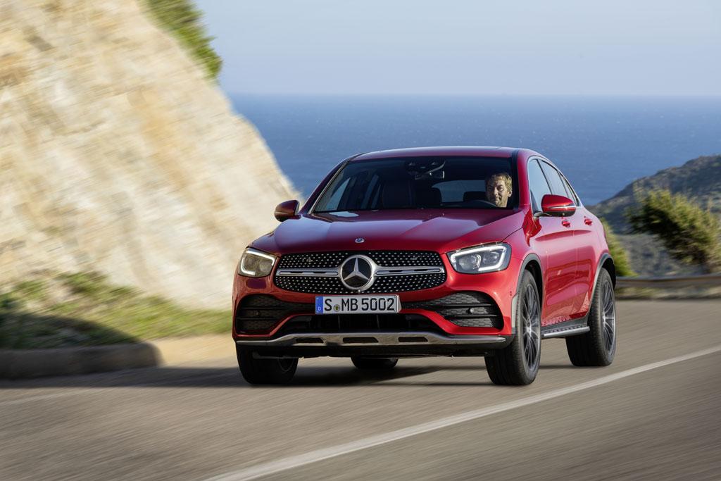 REVIEW: Mercedes-Benz GLC Coupe, Gunakan MBUX yang Canggih