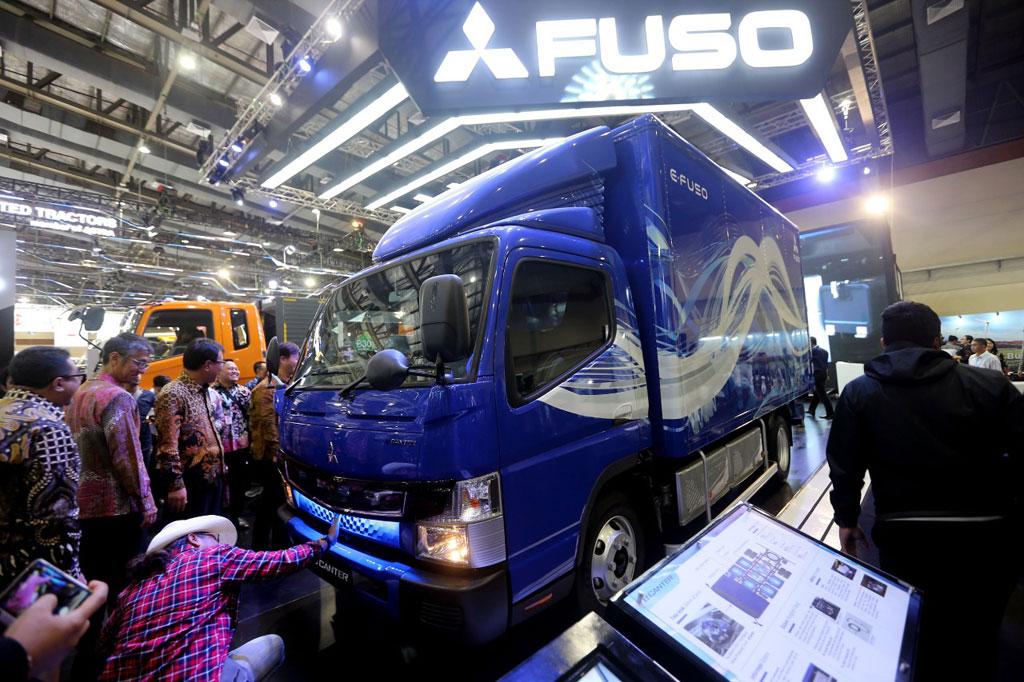Mitsubishi eCanter Usung Teknologi Anyar, Belum Dijual di Indonesia