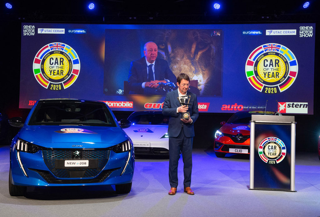 Peugeot 208 Sabet Gear Car of the Year 2020