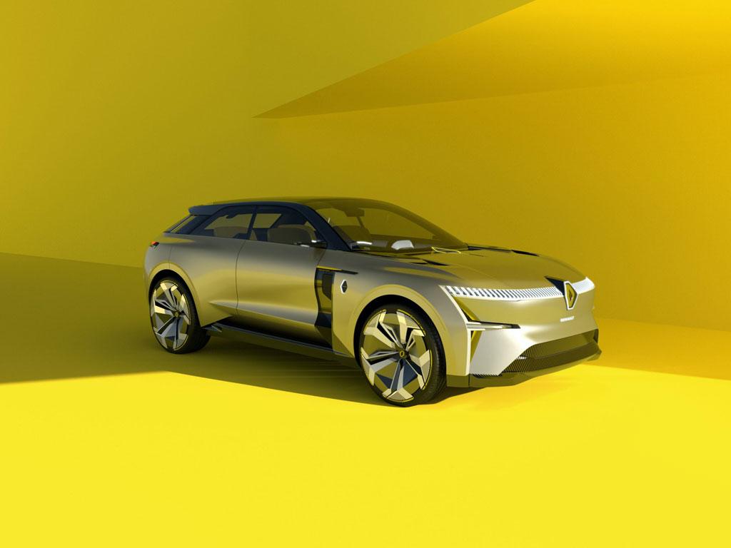 Renault Morphoz, Konsep SUV Masa Depan Bisa Berubah Bentuk