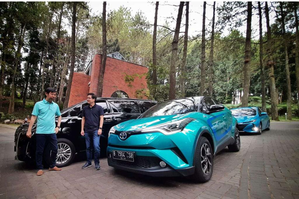 Toyota Boyong Aneka Mobil Listrik ke Indonesia Tahun Ini