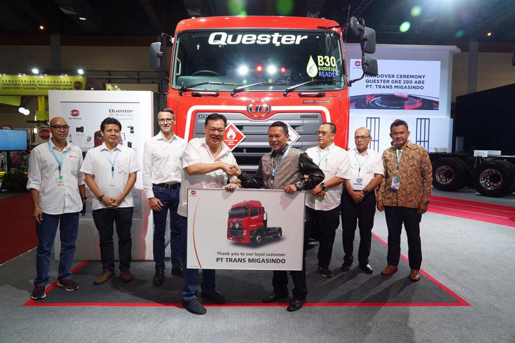 UD Trucks Quester 280 Diborong Perusahaan Transportir Pertamina
