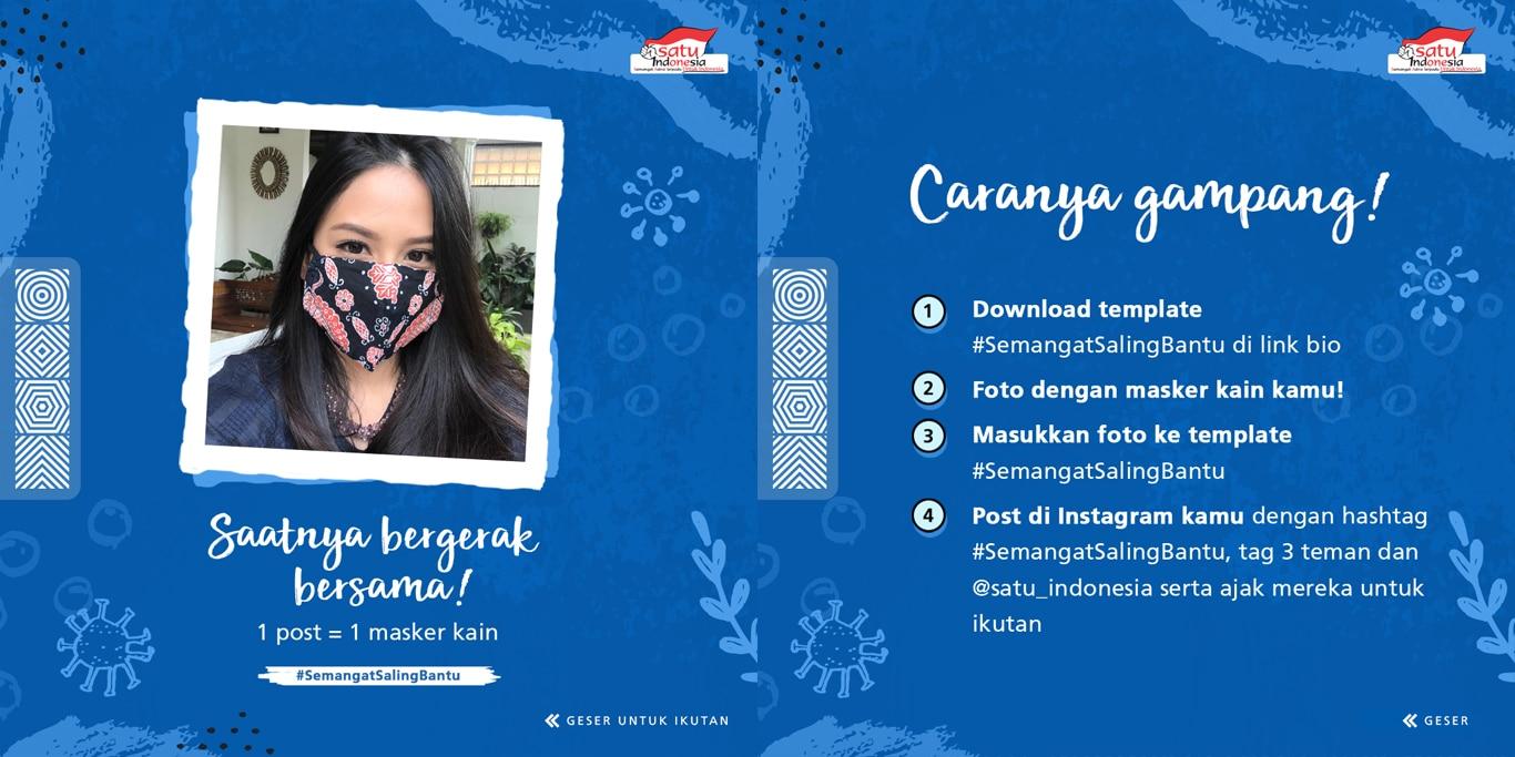 Astra Gelar #SemangatSalingBantu, Posting Sambil Berbagi Masker