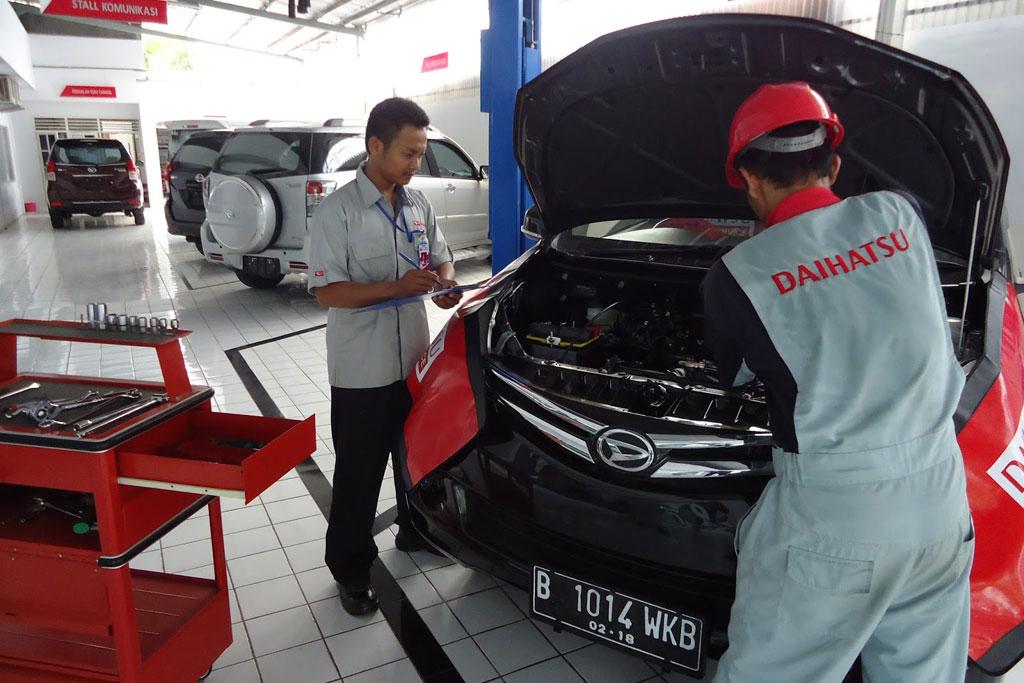 Aman #ServicediRumahAja, Daihatsu Mobile Service Siap Membantu