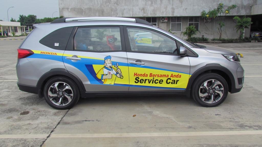 Tak Repot, Honda Bawa Layanan Langsung ke Rumah Anda