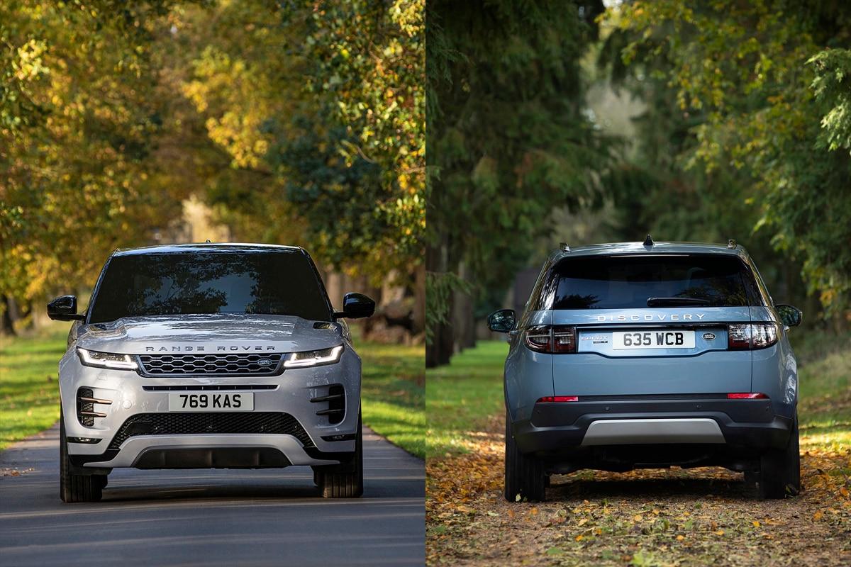 Range Rover Evoque dan Discovery Sport Plug-In Hybrid