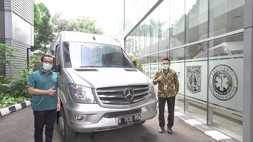 Mercedes-Benz Sediakan Sprinter Van untuk AGD Dinas Kesehatan Jakarta