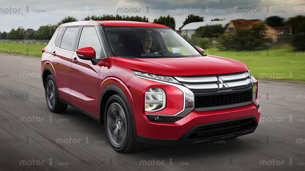 Render Mitsubishi Outlander Baru, Begini Kira-Kira Tampilannya