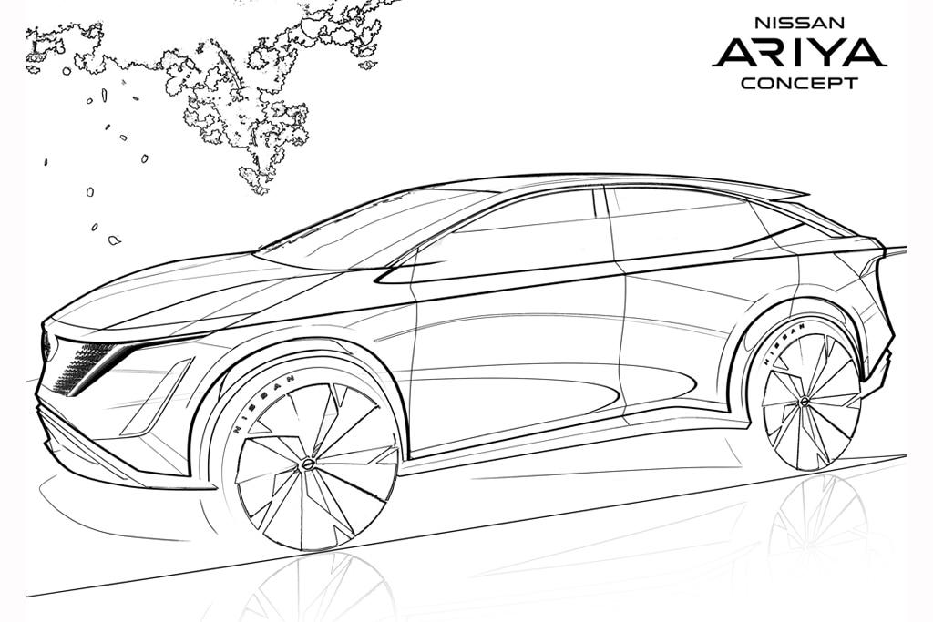 Yuk Isi Waktu Psbb Dengan Mewarnai Sketsa Mobil Nissan Carvaganza Com