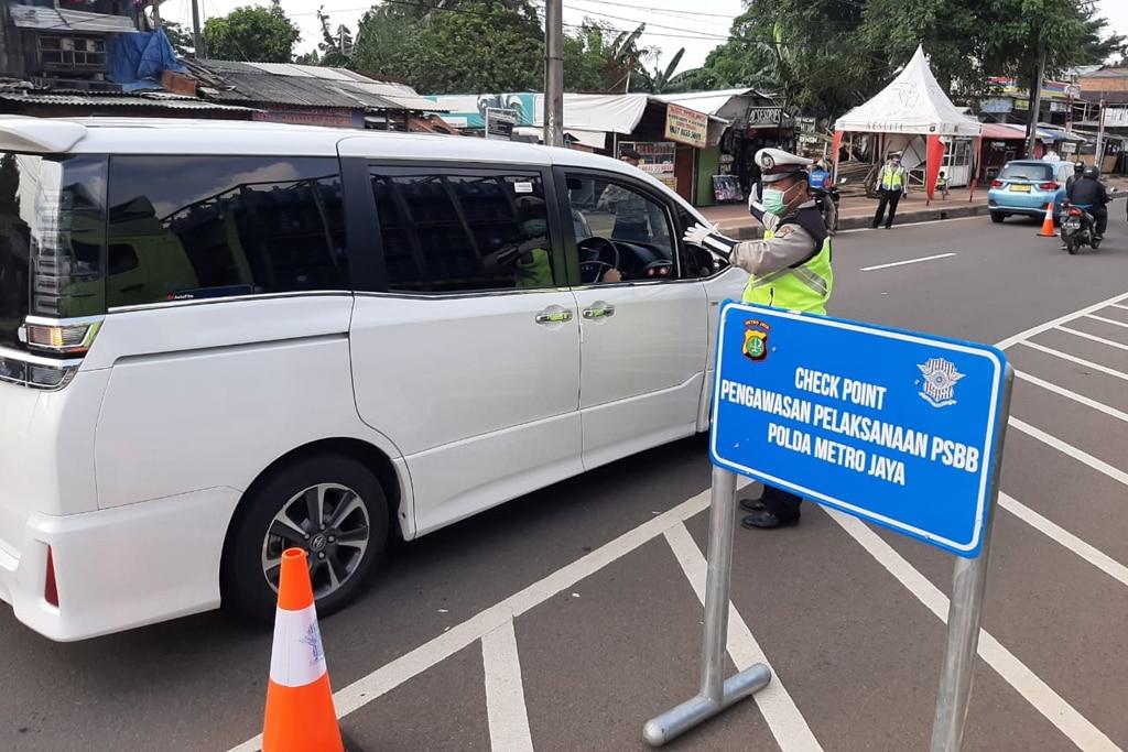 Begini Aturan Naik Mobil Pribadi Saat PSBB di Jakarta