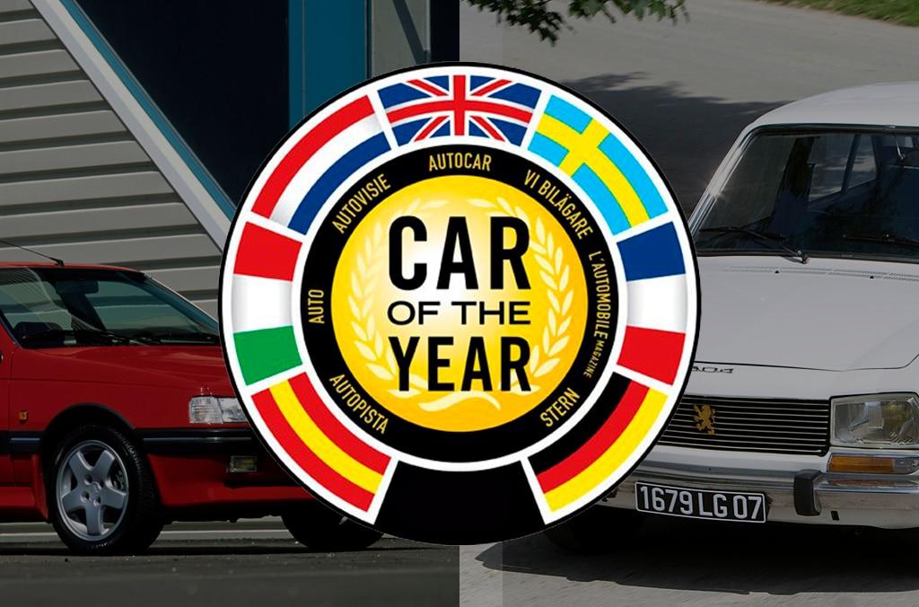 504 dan 405, 2 Peugeot Klasik Peraih Car of the Year