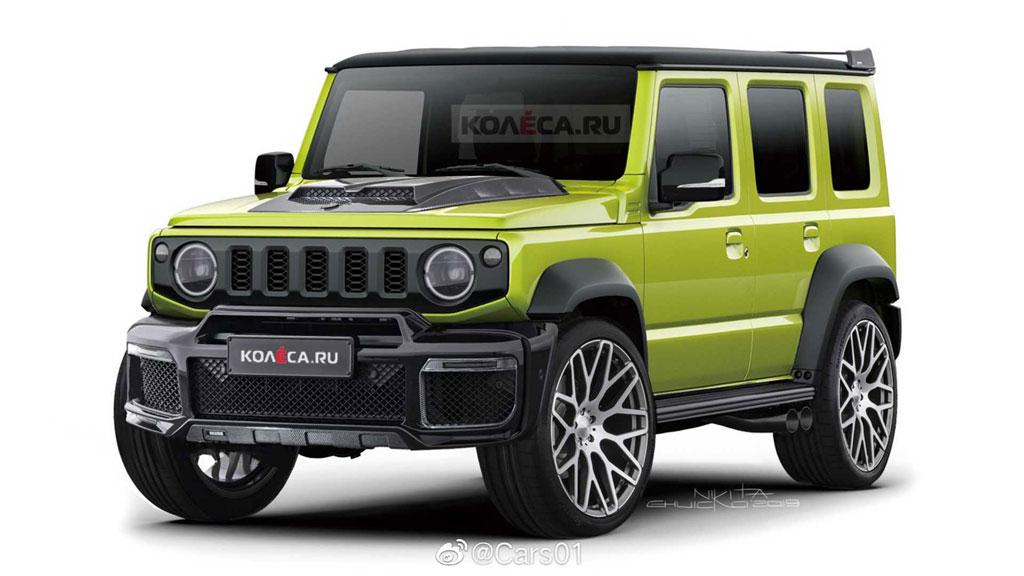 Suzuki Siapkan Jimny 5-Pintu, Lebih Besar dan Panjang