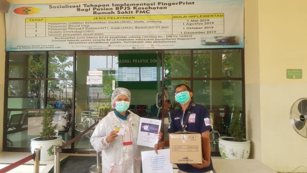 Rangkaian Aksi Sosial Komunitas TOSCA di Tengah Pandemi COVID-19