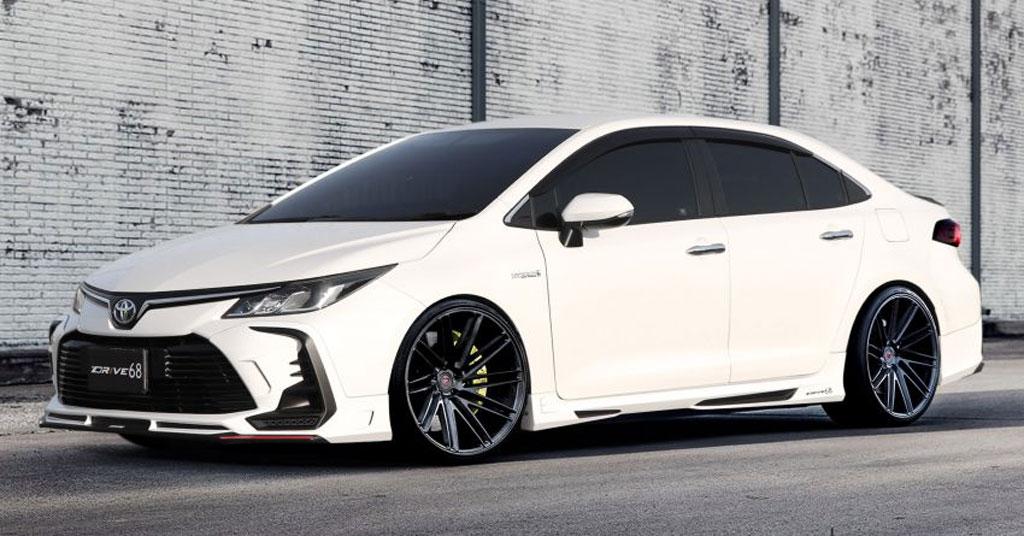 Paket Modifikasi Sporty Toyota Corolla Altis a la Drive 68