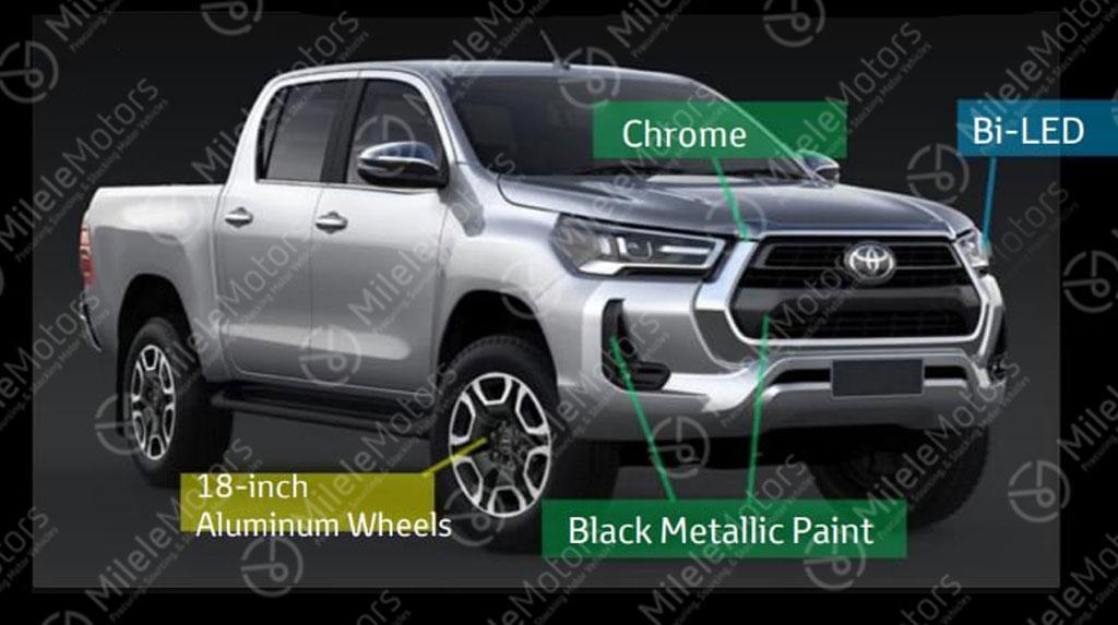 Bocoran Toyota Hilux Versi Facelift, Tampang Lebih Gagah