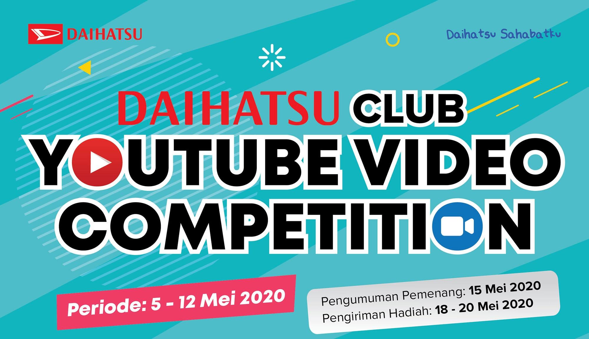 Manfaatkan WFH, Daihatsu Gelar Kompetisi Digital Antar Komunitas