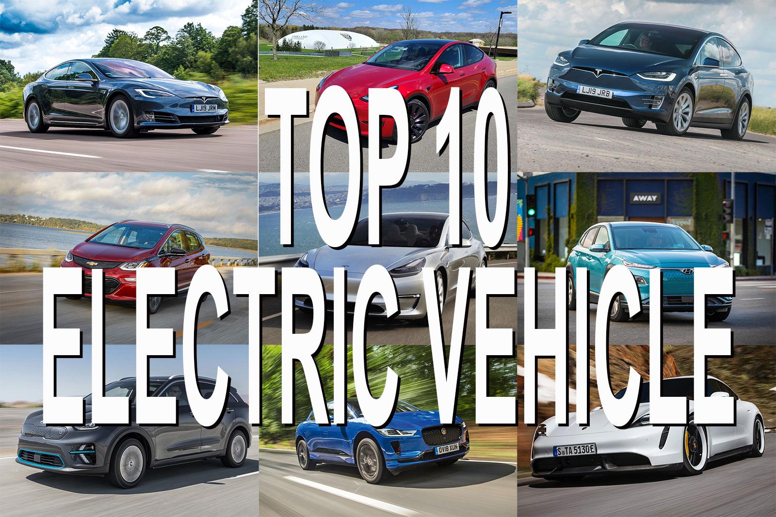 Top 10, Mobil Listrik dengan Kemampuan Jarak Tempuh Terjauh