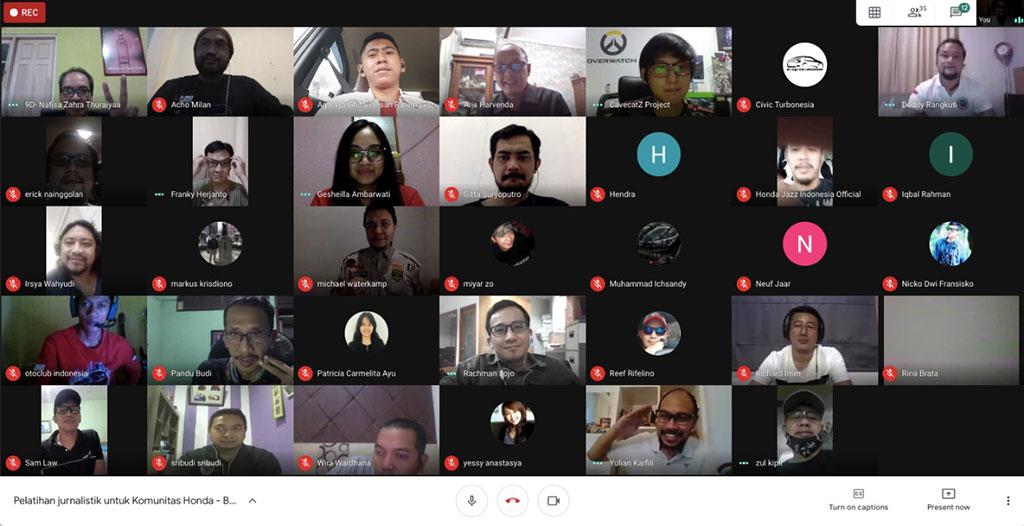 Honda Beri Pelatihan Jurnalistisk dan Konten Kreatif Bagi Komunitas
