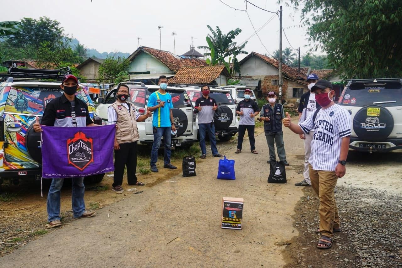 TeRuCi Chapter Tangerang Aksi Sosial Peduli COVID-19