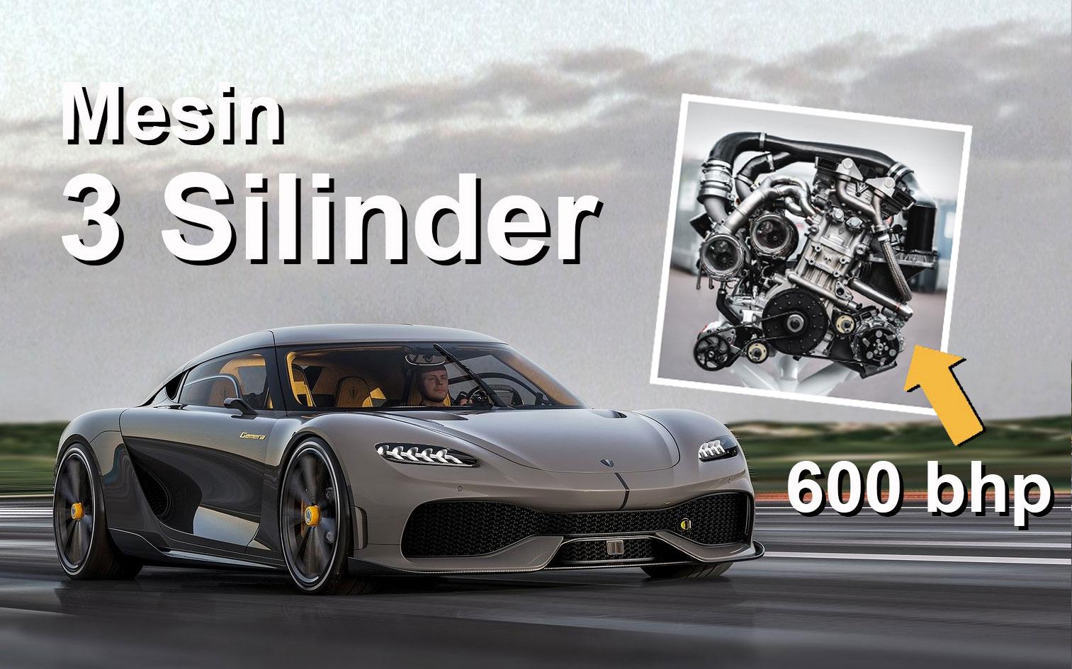 VIDEO: Bagaimana Mesin Tiga Silinder Koenigsegg Hasilkan Tenaga 608 PS