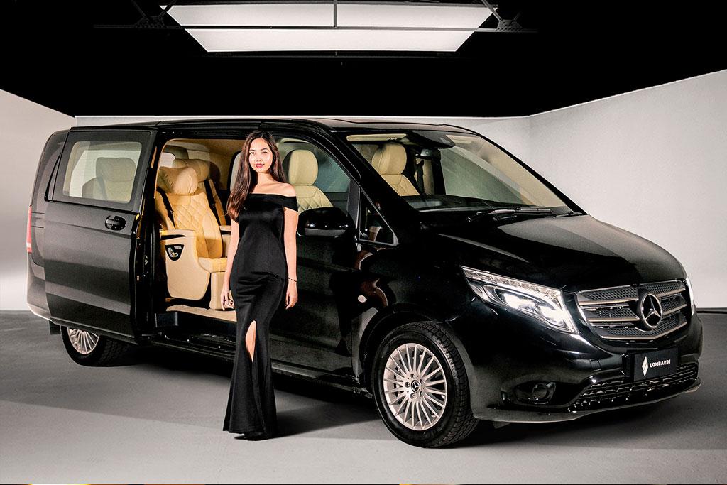 Modifikasi Mercedes-Benz Vito ala Lombardi Cegah Penularan Corona