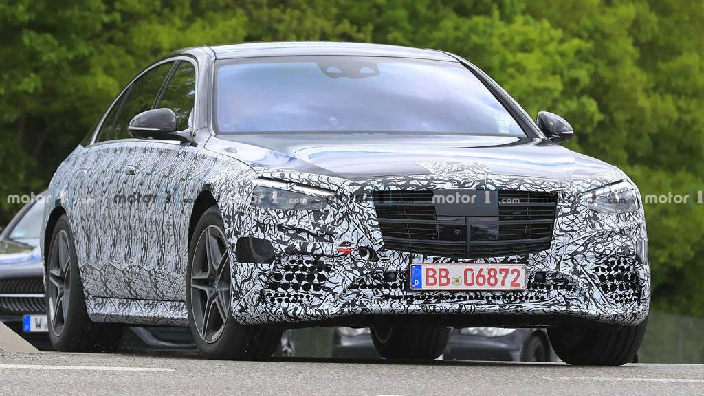 Tampang Calon Mercedes-Benz S-Class Baru Mulai Terlihat