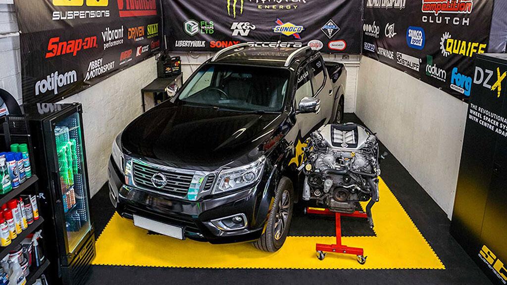 Modifikasi, Ketika Nissan Navara Berjantung GT-R 1.000 HP