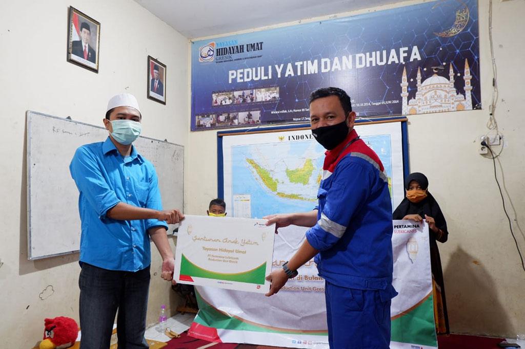 Pertamina Lubricants Berbagi Santunan dengan Anak Yatim di 3 Wilayah