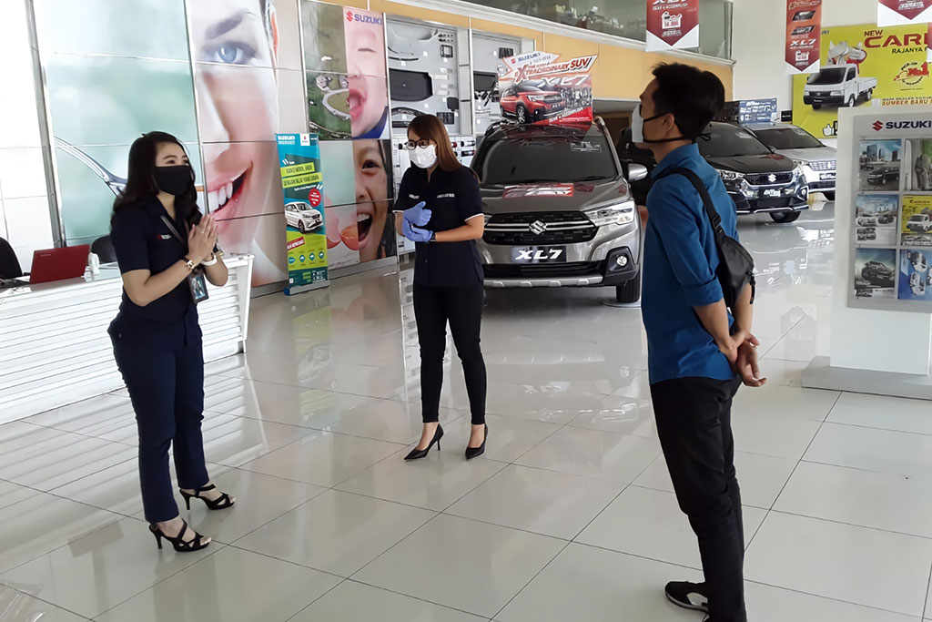 Suzuki Jalankan Prosedur Keselamatan Pelanggan Selama COVID-19